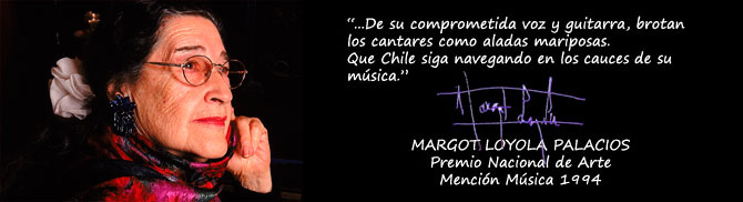palabras de Margot loyola